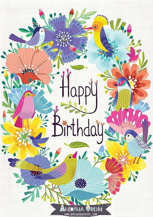 poster for birthday wishes ; d98be15e48c61f0967b832402662d359--birthday-illustration-draw-tutorial