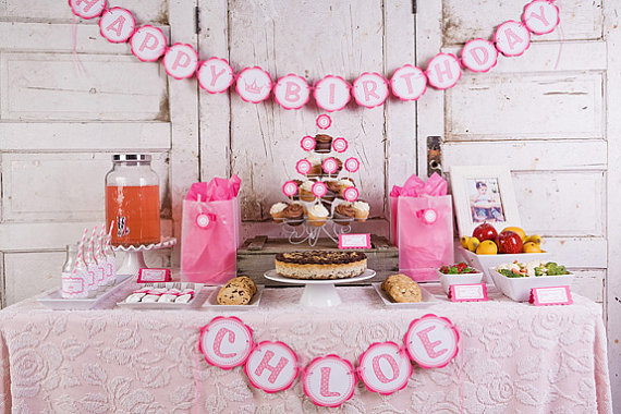 princess birthday banner with photo ; 4d9a051c303f2c28d16a51744122ddf3