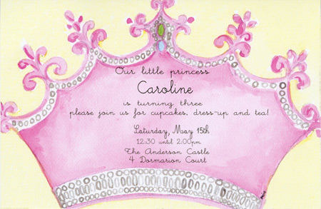 princess theme birthday invitation ; cfc2ffd6f514df4084304a64e9998d17