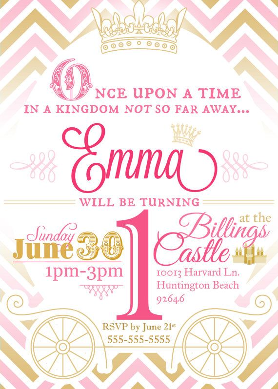 princess theme birthday invitation ; princess-birthday-party-invitation-for-your-save-the-dates-and-invites-2