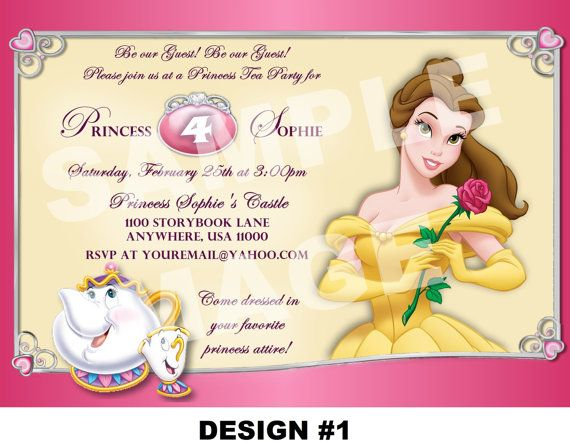 princess themed birthday party invitation wording ; 1b2c2aecc4a8419cdf2911aa9a409cfb