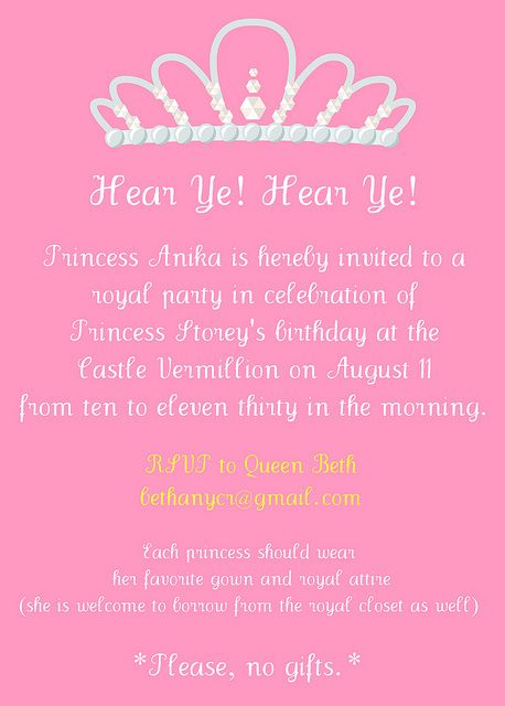 princess themed birthday party invitation wording ; 25b832f8f82acf9d83a3f1d7616de3a4--princess-party-invitations-lego-parties