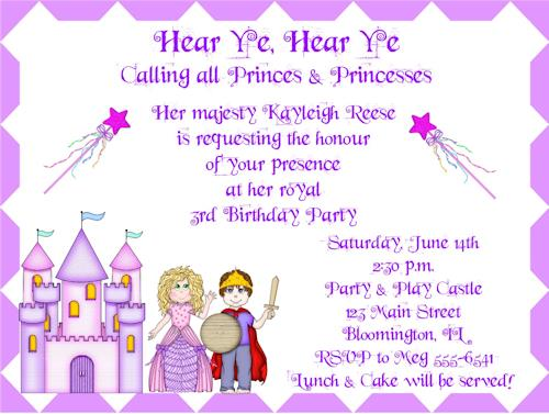 princess themed birthday party invitation wording ; 61553b0f388f691a97565386a521544e