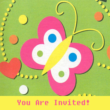 printable 18th birthday invitations ; Butterfly-Printable-Birthday-Invitation-Template