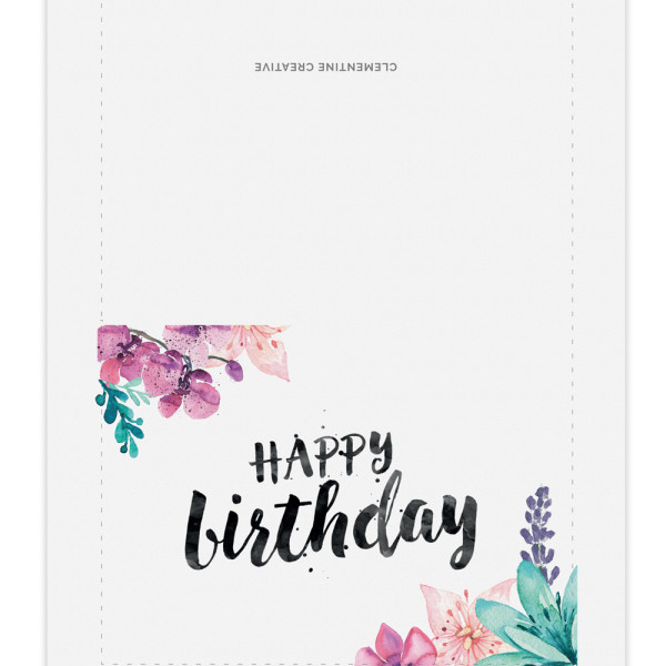 printable birthday card template ; af7685bb29792643e75c4f8de176baca