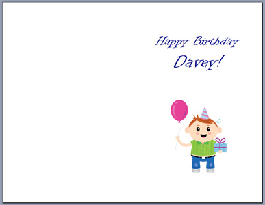 printable birthday card template word ; Free-print-birthday-cards-half-fold-birthdays-greeting-card-word-template-baby-davey-pink-ballon-white-background-blue-gift