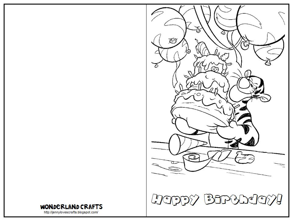 printable birthday card template word ; printable-folding-birthday-card-templates-coloring-design-tiger-image-with-cake-simple-decorate-printable-birthday-card-template