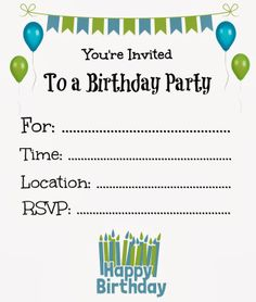 printable birthday party invitation templates ; free-printable-birthday-party-invitations-for-boys-as-glamorous-Birthday-invitation-template-designs-for-you-16920161