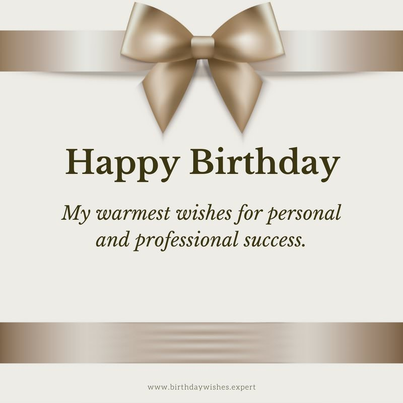 professional birthday greeting messages ; Formal-and-elegant-birthday-wish-for-work