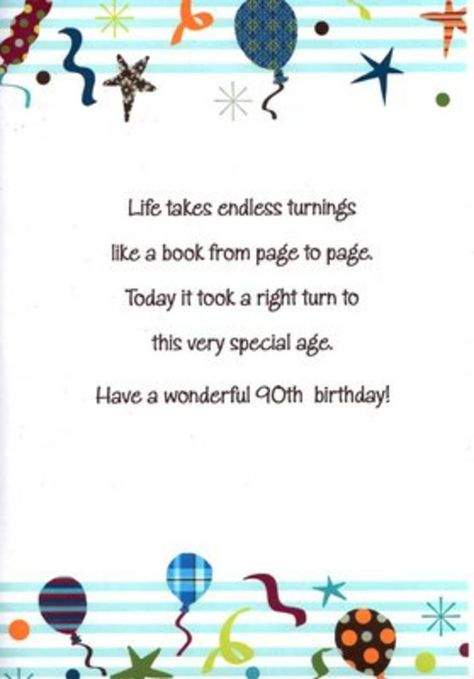 quotes for 90th birthday card ; 0506bd2ad659c8dedc9498f0352b1dee