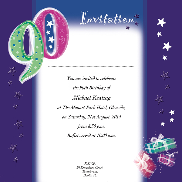 quotes for 90th birthday card ; 895