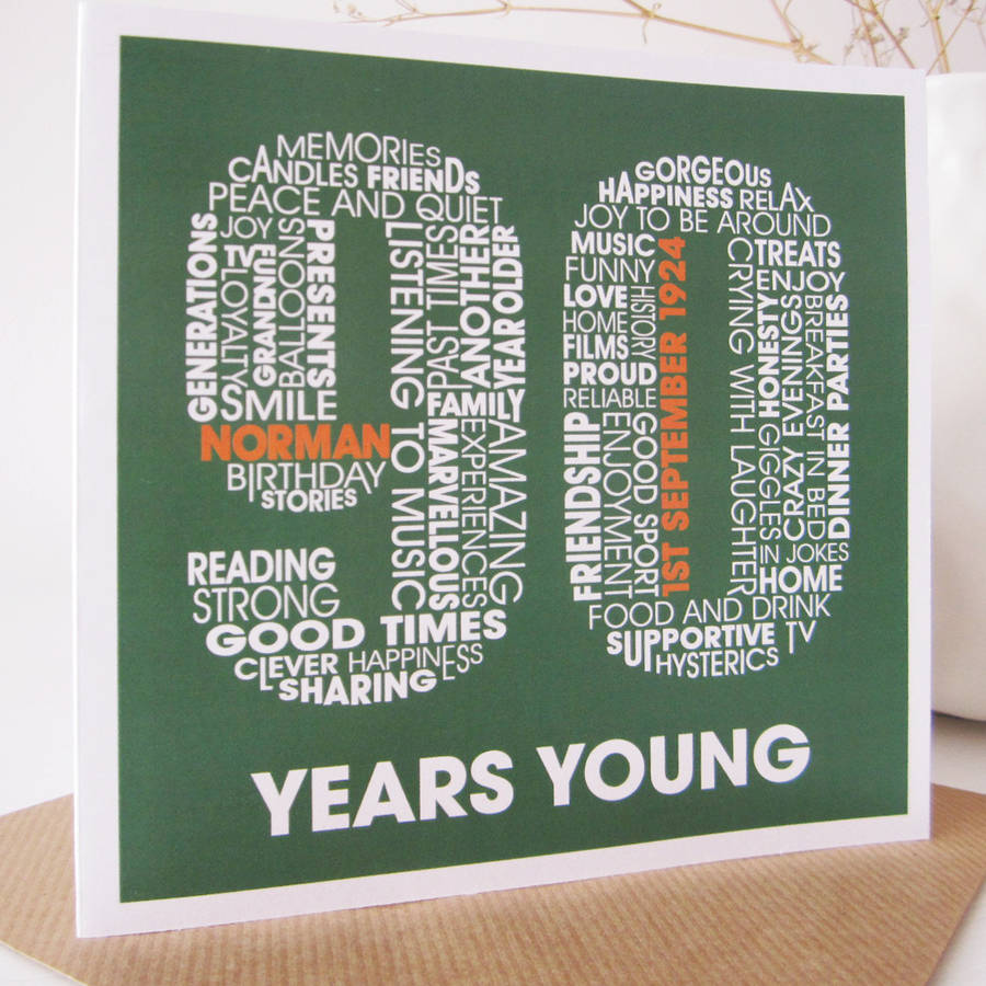 Quotes For 90th Birthday Card 90Th Cards Inspirational