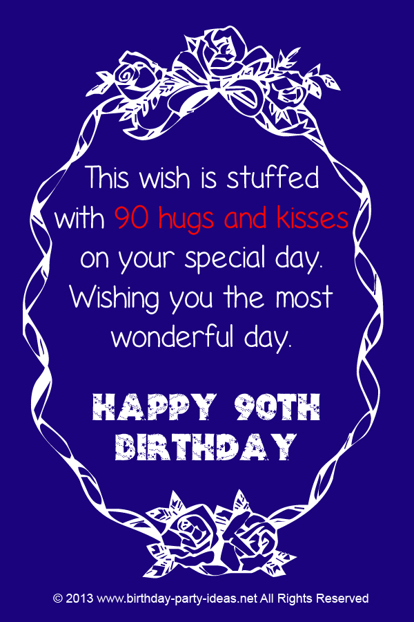 quotes for 90th birthday card ; a5abf839b7f6c184f183758f447b5446