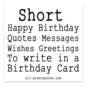 quotes to write in a birthday card ; 7015ef6719fb697ee00d9df7b6d29071