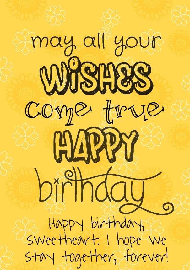 quotes to write in a birthday card ; Love-Ecards-For-Her-Birthday