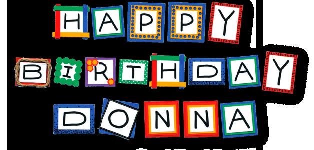 response message for birthday greetings ; DonnaBD