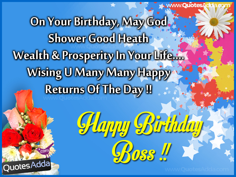 return message for birthday wishes ; Wishing-U-Many-Many-Happy-Returns-Of-The-Day-Boss-wb6110