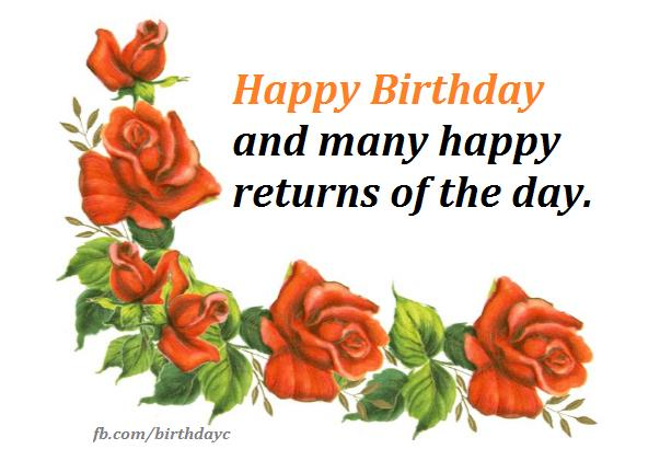 return message for birthday wishes ; hb-0156
