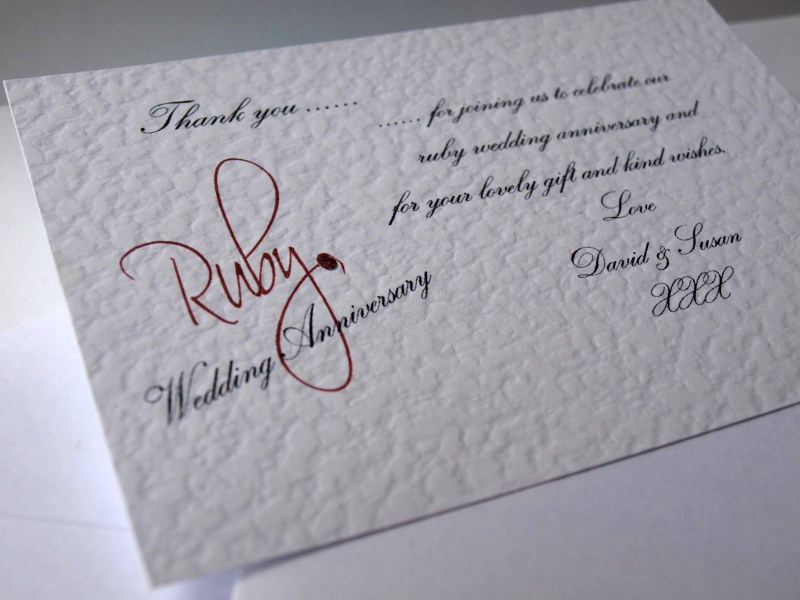 return thanks message for birthday wishes ; ruby_wedding_anniversary_thank_you