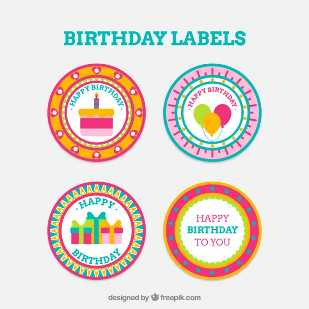 round birthday labels ; round-birthday-badges_23-2147553517