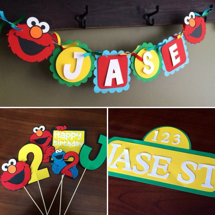 sesame street birthday banner with photo ; d2358ad03871df8e35ac3f7ef7cb6640--elmo-birthday-birthday-banners