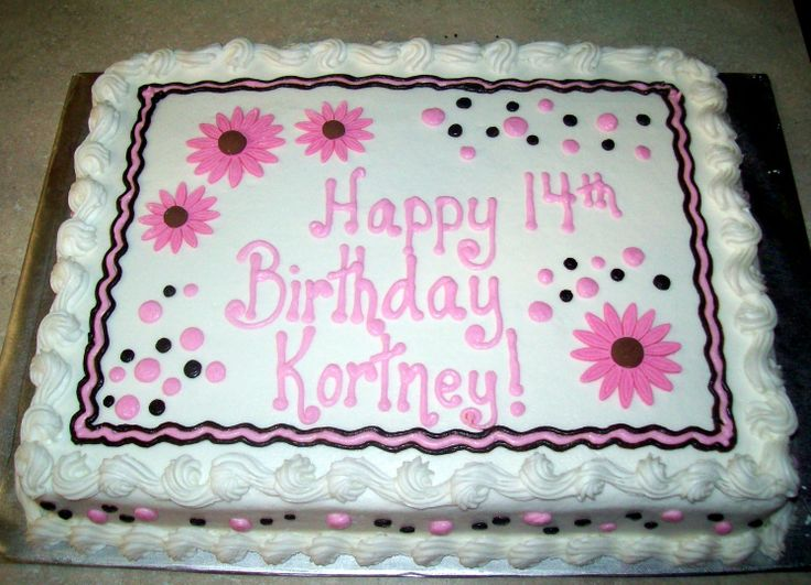 sheet cake decorating ideas for birthdays ; af1130980ad9d4e8d55e209eb3459bf3--sheet-cakes-decorated-summer-cakes
