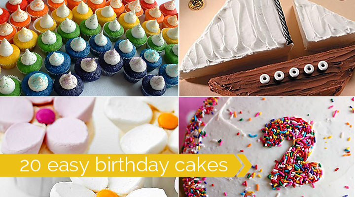 sheet cake decorating ideas for birthdays ; easy-birthday-cakes-to-decorate