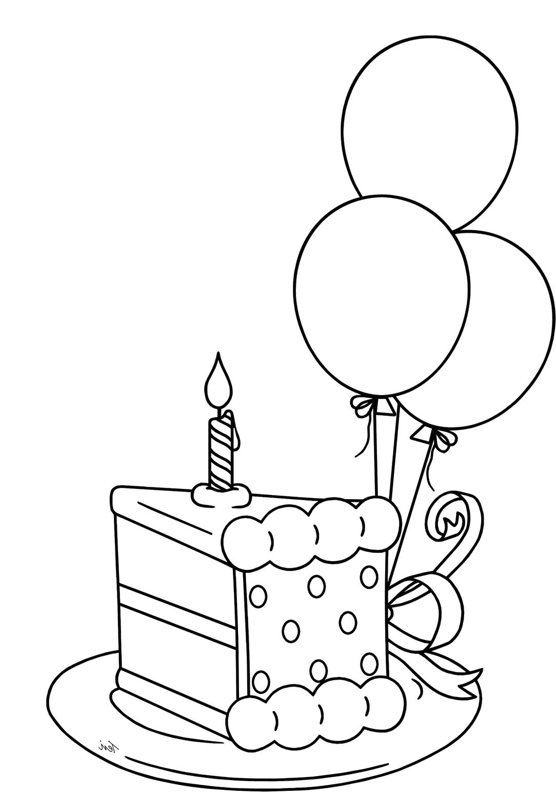 simple birthday cake drawing ; f88758d4e3861102244435dabf500cb0