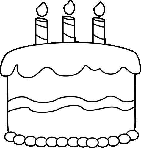 Simple Birthday Cake Drawing Best Happy Birthday Wishes