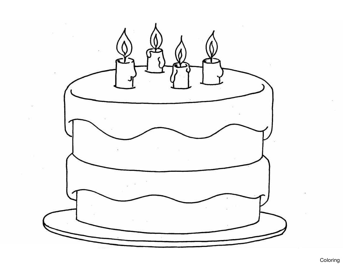simple drawing of birthday cake ; simple-birthday-cake-drawing-color-pages-activity-1-how-to-draw-a-coloring-step-by-gallery-22f