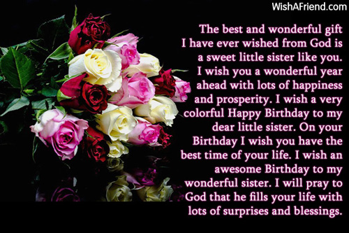 sister birthday greetings message ; 11694-sister-birthday-messages