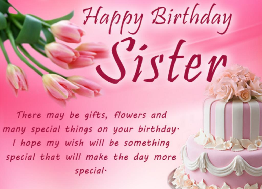 sister birthday greetings message ; 2d17db1ce279c41135d572f21fccd322