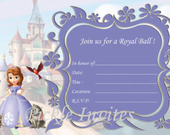 sofia the first birthday invitation card template free ; Sofia-The-First-Birthday-Invitations-for-your-inspiration-to-make-invitations-design-look-beautiful