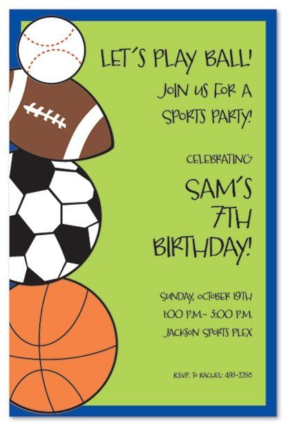 sports themed birthday invitation wording ; 0cbae888ba56626c118226e21e1c9bed