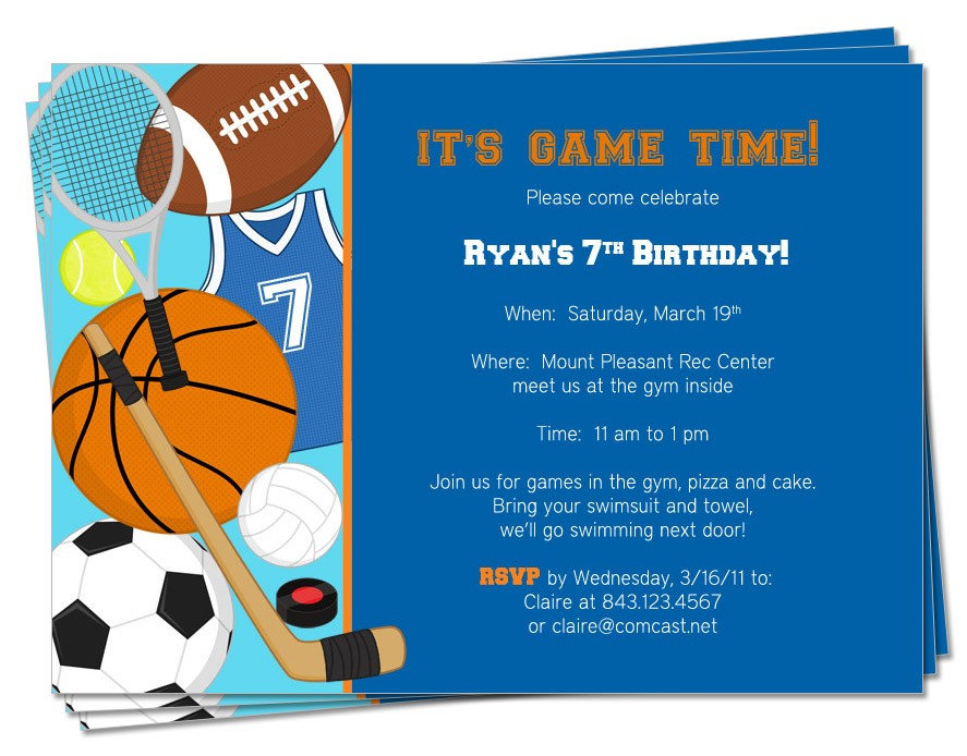 sports themed birthday invitation wording ; Sports-Themed-Birthday-Invitations-and-get-ideas-how-to-make-your-Birthday-invitation-with-awesome-appearance-1