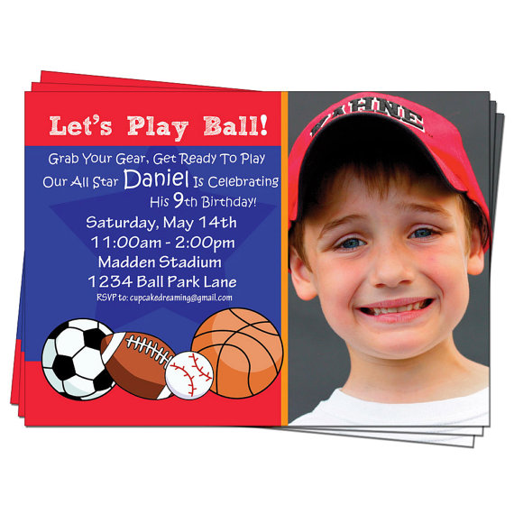 sports themed birthday invitation wording ; bfa6123c19c9a741f2ab8012e1129960