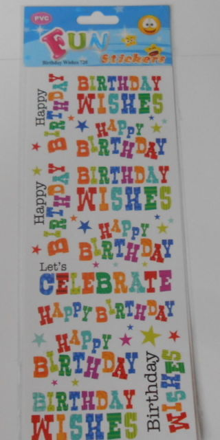 stickers for birthday wishes ; s-l640