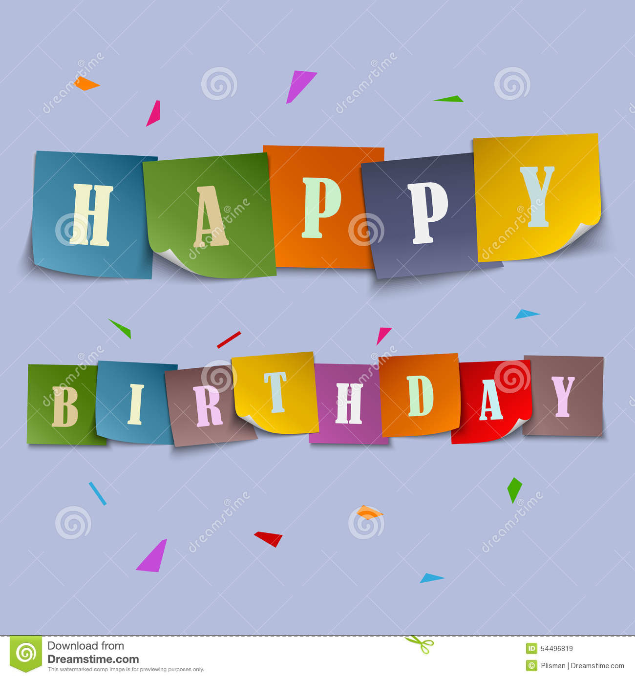 stickers of birthday wishes ; happy-birthday-card-with-colored-stickers-template-stock-vector-detail-stickers-for-birthday-cards