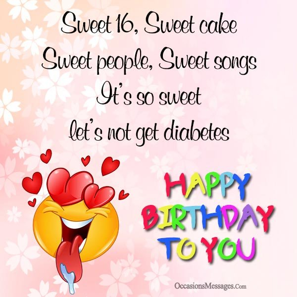 sweet birthday picture messages ; Happy-16th-birthday-wishes