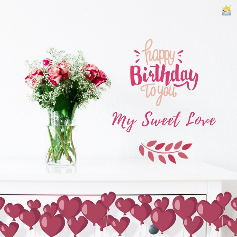 sweet birthday picture messages ; Happy-Birthday-to-you-my-sweet-love