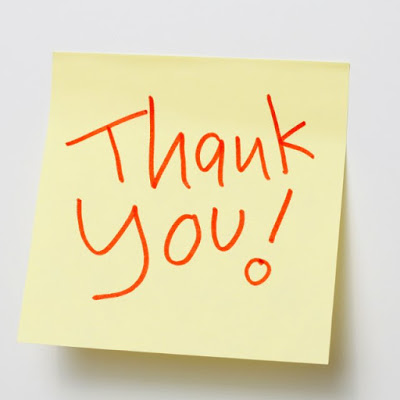thank you card for birthday wishes on facebook ; Thank-You-Note
