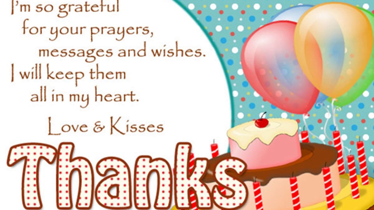 thank you card for birthday wishes on facebook ; maxresdefault