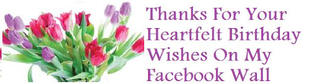 thank you for all the birthday greetings message ; 959784