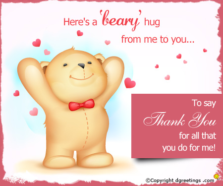 thank you greeting cards for birthday wishes ; Cute%2520thanks_1