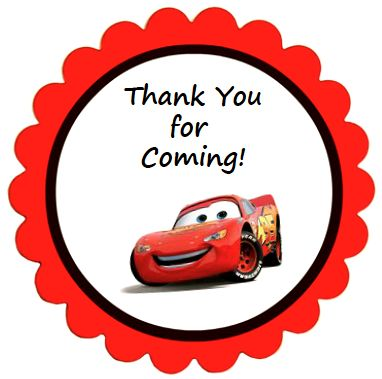 thank you labels for birthday ; thank-you-birthday-labels-disney-cars-party-favor-labels-these-round-thank-you-labels-are