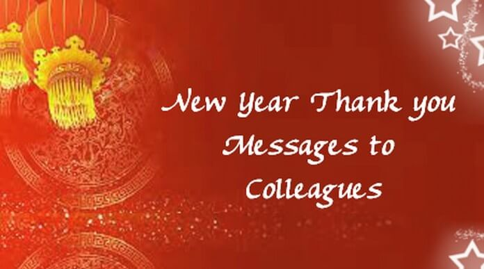 thank you message for all the birthday greetings ; colleagues-new-year-thank-you-messages