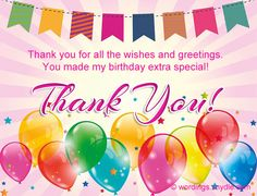 thank you message for birthday greetings and gifts ; c3d7815bfe59ee015ff7f13f6955152d--birthday-thank-you-message-messages-for-birthday