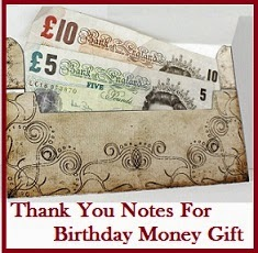 thank you message for birthday greetings and gifts ; money_or_gift_voucherelope_wallet_brown_and_claret_drinks_theme_5018ea26