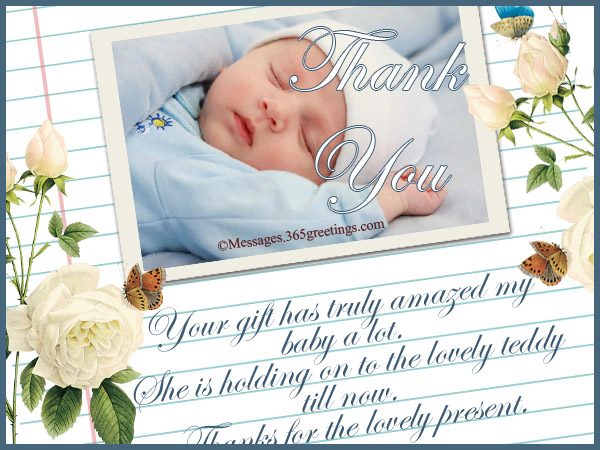 thank you message for birthday greetings and gifts ; thank-you-notes-for-baby-gifts