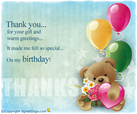 thank you message for birthday greetings and gifts ; thanks-for-your-gift